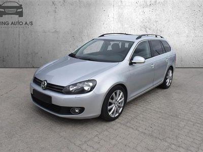 brugt VW Golf Variant 1,6 TDI DPF Comfortline 105HK Stc - Personbil - sølvmetal