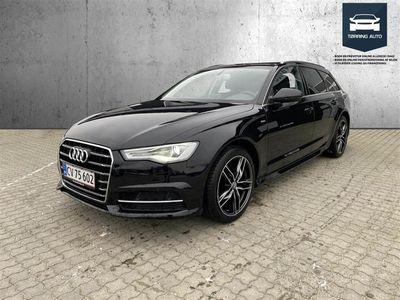 brugt Audi A6 Avant 2,0 TDI Ultra S Tronic 190HK Stc 7g Aut. - Personbil - Sortmetal