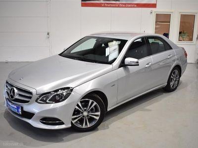 brugt Mercedes E220 1 Bluetec 9G-Tronic 170HK 9g Aut.