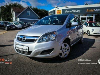 brugt Opel Zafira 1,8 16V 140 Classic