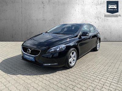 brugt Volvo V40 2,0 D2 Eco Kinetic 120HK Stc 6g - Personbil - Sortmetal