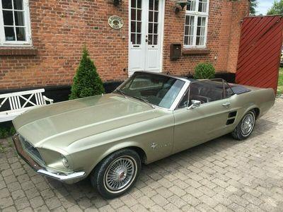 brugt Ford Mustang cabriolet