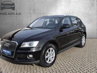 brugt Audi Q5 2,0 TDI S Tronic 190HK 5d Aut. - Personbil - Sort