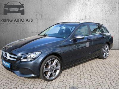 brugt Mercedes C250 d T 2,1 Bluetec 7G-Tronic Plus 204HK Stc 7g Aut. - Personbil - mørkgrå