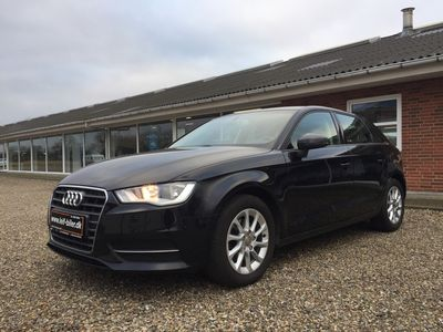 brugt Audi A3 Sportback 1,4 TFSI Attraction 150HK Stc 6g