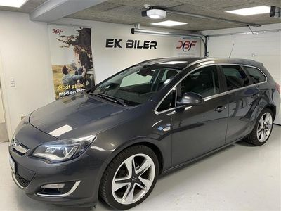 brugt Opel Astra Sports Tourer 1,4 Turbo Sport Start/Stop 140HK Stc 6g