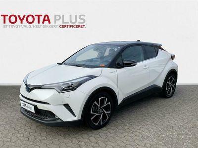 brugt Toyota C-HR 1,8 B/EL C-ULT Smart - LED Multidrive S 122HK 5d Aut.