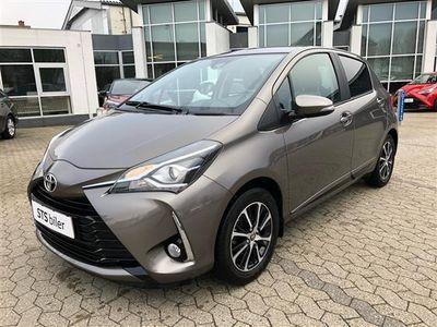 brugt Toyota Yaris 1.0VVT-i T2 Premium
