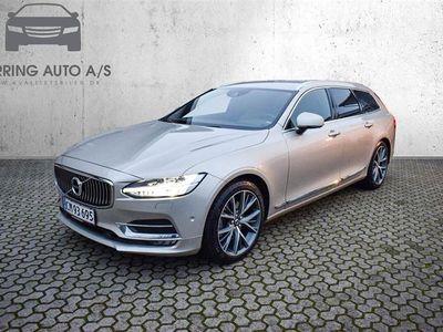brugt Volvo V90 2,0 D5 Inscription AWD 235HK Stc 8g Aut. - Personbil - Champagnemetal