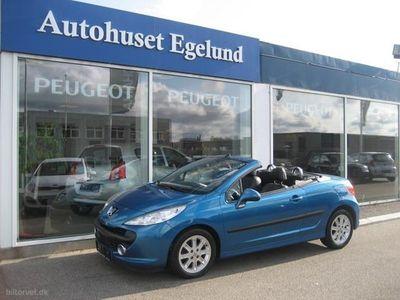 gebraucht Peugeot 207 CC 1,6 120HK Cabr.