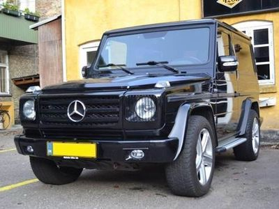 used Mercedes G350 d 3,5 UOPLYST