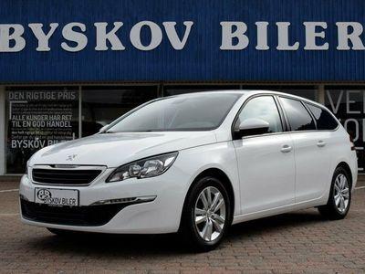 begagnad Peugeot 308 1,6 BlueHDi 120 Active SW