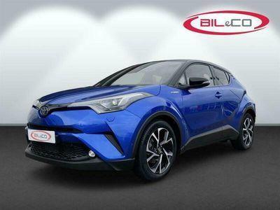 brugt Toyota C-HR 1,8 Hybrid Premium Selected Bi-tone Multidrive S 122HK 5d Aut.