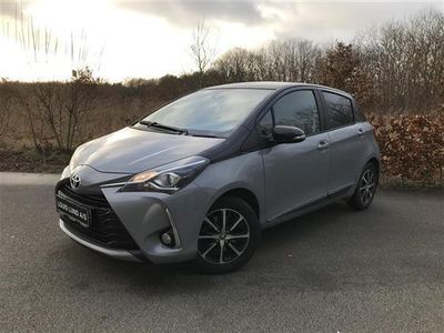 brugt Toyota Yaris 1,5 VVT-I T3 Designpakke 111HK 5d 6g