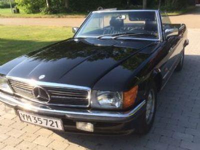 käytetty Mercedes SL350 (107 europæisk model)