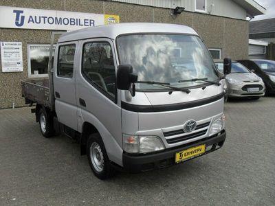 brugt Toyota Dyna 100 3,0 D-4D Mandskabsvogn m/lad