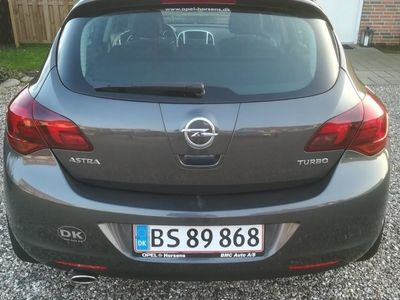 used Opel Astra 4 Turbo Sport 140HK 5d 6g