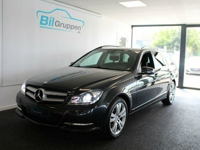 used Mercedes C220 2,2 CDi stc. aut. BE