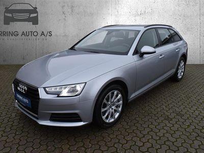 brugt Audi A4 Avant 2,0 TDI Design S Tronic 190HK Stc 7g Aut. - Personbil - sølvmetal