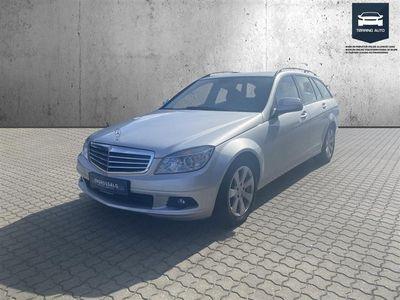 brugt Mercedes C180 T 1,8 Kompressor 156HK Stc 6g - Personbil - Sølvmetal