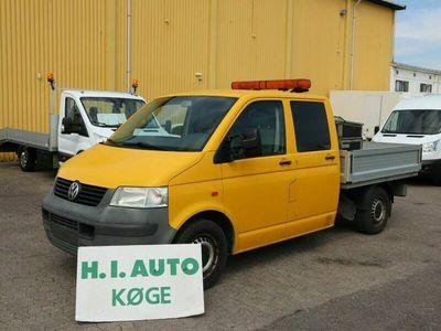 brugt VW Transporter 2,5 TDi 130 Mandskabsvogn m/lad aut.