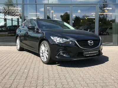 brugt Mazda 6 2,5 Sky-G 192 Optimum st.car aut.