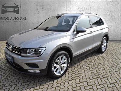 brugt VW Tiguan 2,0 TDI BMT SCR Comfortline 150HK 5d 6g - Personbil - sølvmetal