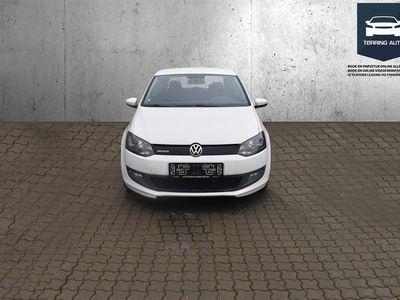 brugt VW Polo 1,2 blueMotion TDI 30,3 75HK 3d - Personbil - Hvid