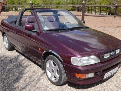 brugt Ford Escort Cabriolet 1,8i