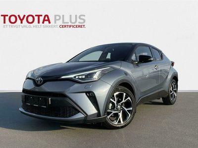 brugt Toyota C-HR 1,8 Hybrid C-LUB Premium Multidrive S 122HK 5d Aut. A++