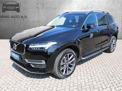 brugt Volvo XC90 2,0 D5 Momentum AWD 235HK 5d 8g Aut. - Personbil - sortmetal - 7 pers.