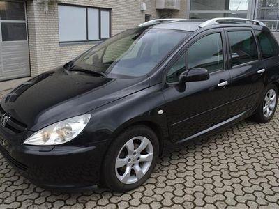 brugt Peugeot 307 SW 2,0 Griffe 136HK - Personbil - Sortmetal