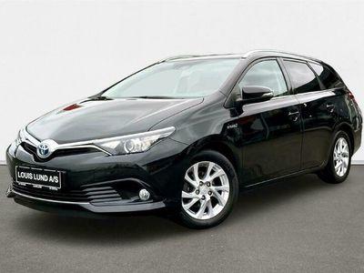 brugt Toyota Auris Touring Sports 1,8 Hybrid H2 136HK Stc Aut. A++
