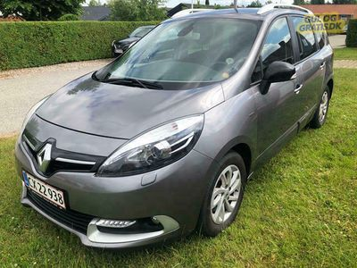 brugt Renault Grand Scénic familiebil 7 Pers.