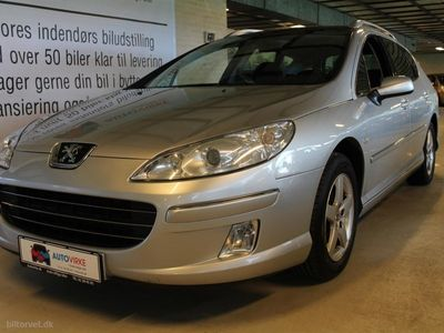 gebraucht Peugeot 407 SW 1,6 HDI Perfection 109HK Stc
