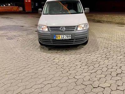 brugt VW Caddy 2,0 SDI 5 døres Billig afgift 5500 kr årlig ved privat 100%