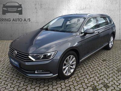 brugt VW Passat Variant 1,4 TSI BMT ACT Highline DSG 150HK Stc 7g Aut. - Personbil - grå