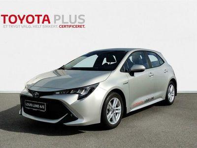 brugt Toyota Corolla 1,8 B/EL H3 Smartpakke E-CVT 122HK 5d 6g Aut. A+++