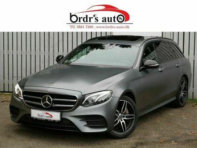 brugt Mercedes E350 3,0 AMG Line stc. aut. 4Matic