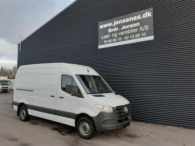 brugt Mercedes Sprinter 316 2,1 CDI A2 H2 RWD 163HK Van 6g 2019