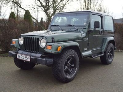 brugt Jeep Wrangler Sahara 4x4