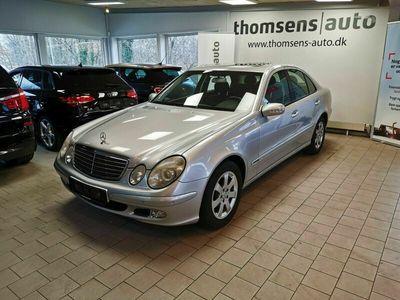 brugt Mercedes E200 8 Komp. Classic