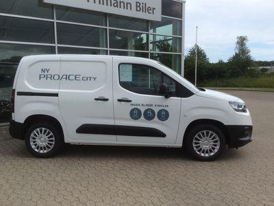 brugt Toyota Proace City Medium 1,5 D Comfort 102HK Van A+