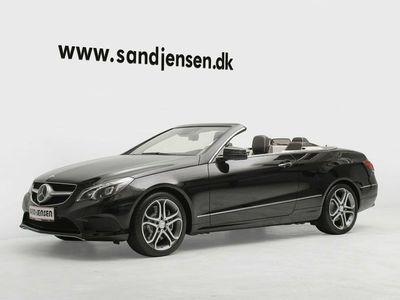 brugt Mercedes E400 0 Cabriolet aut.