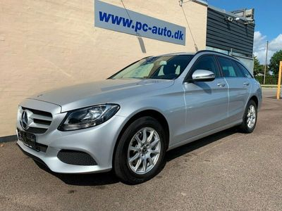 used Mercedes C200 d 2,2 stc. aut.