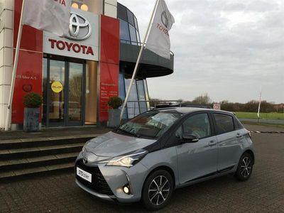 brugt Toyota Yaris 1,5 VVT-I T2 Premium Smart 111HK 5d 6g