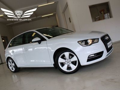 brugt Audi A3 Sportback 1,4 TFSi 150 Ambiente S-tr.