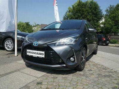 brugt Toyota Yaris Hybrid 15 Hybrid Premium E-CVT 100HK 5d Trinl. Gear