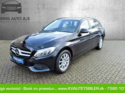brugt Mercedes C220 d 2,1 Bluetec 7G-Tronic Plus 170HK Stc Aut. - Personbil - sortmetal
