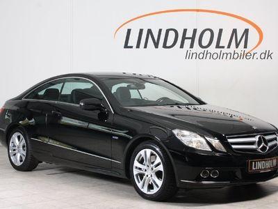 brugt Mercedes E250 2 CDi Avantgarde Coupé aut. BE